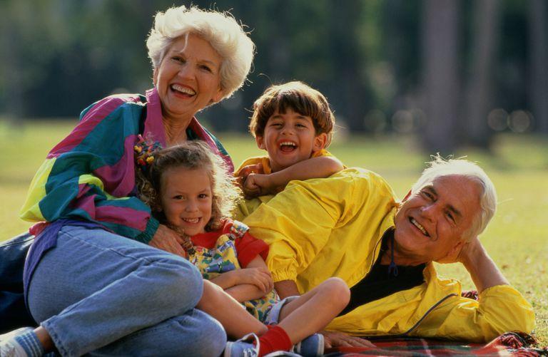 Grandparents In Step Children