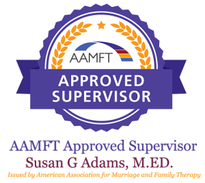 AAMFT Approved Supervisor Issued by American Association for Marriage and Family Therapy