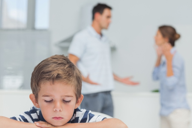 Are Children Affected When Parents Aren't Getting Along?